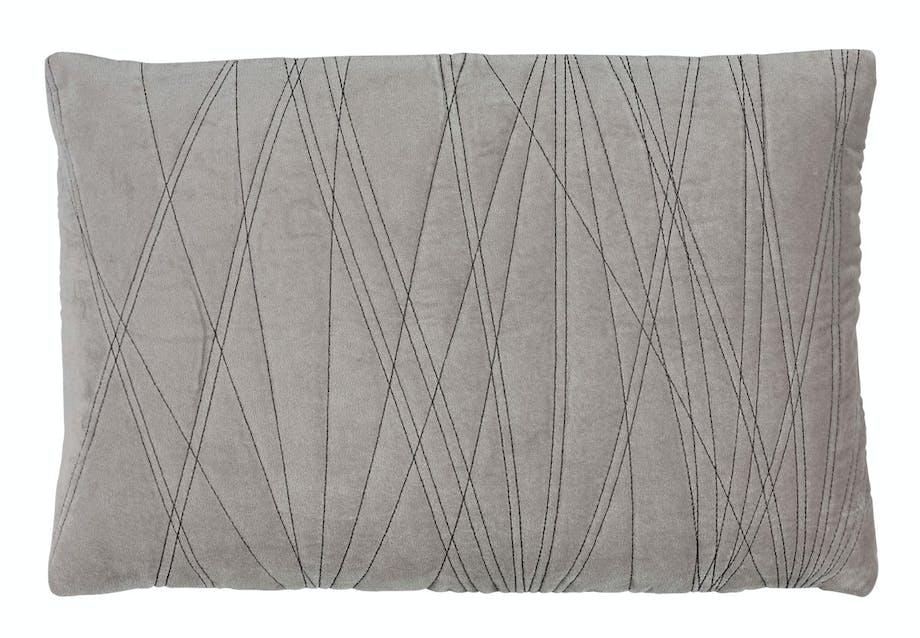 Stilren pude i grå fra Södahl