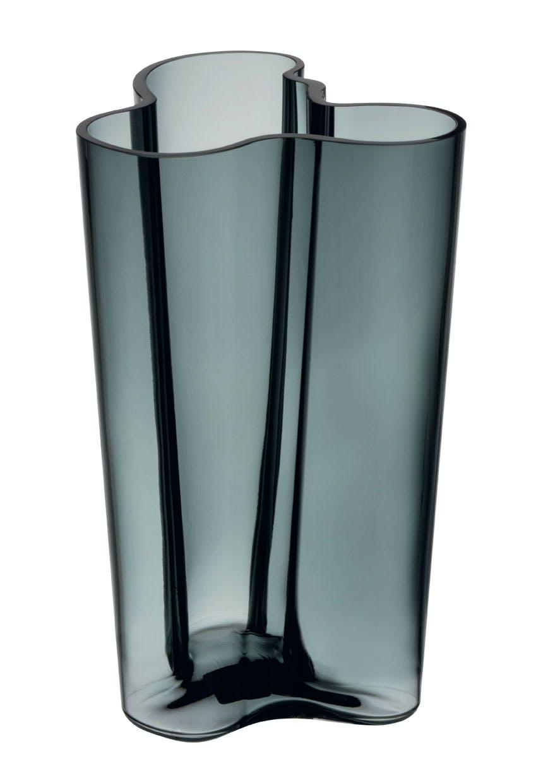 Aalto-vase i ny grå farve