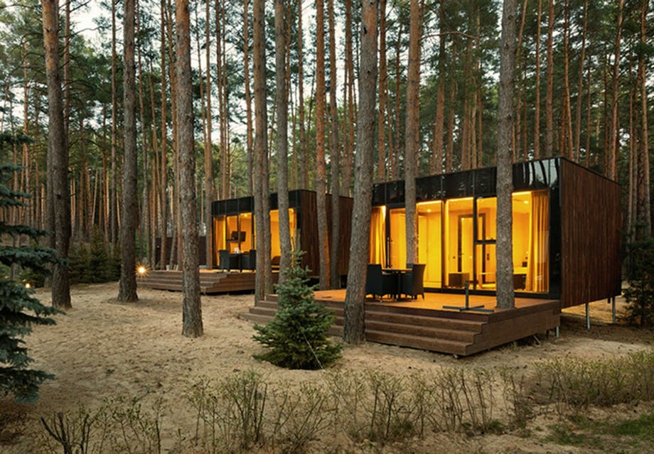 Det lille hus i skoven