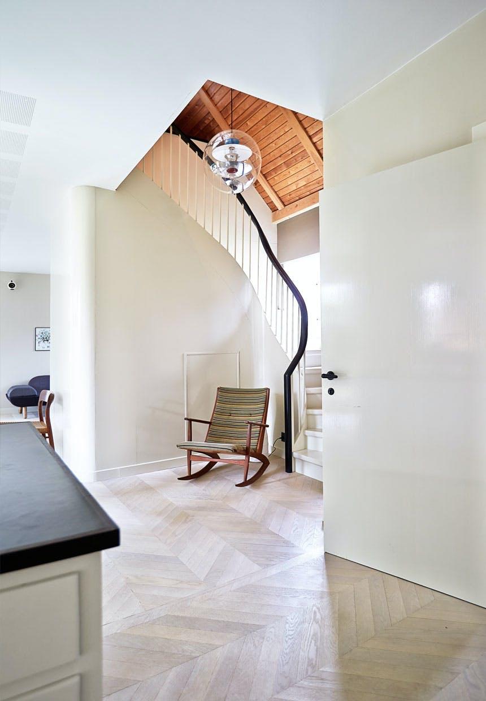 Ny smuk trappe i 50er-villaen