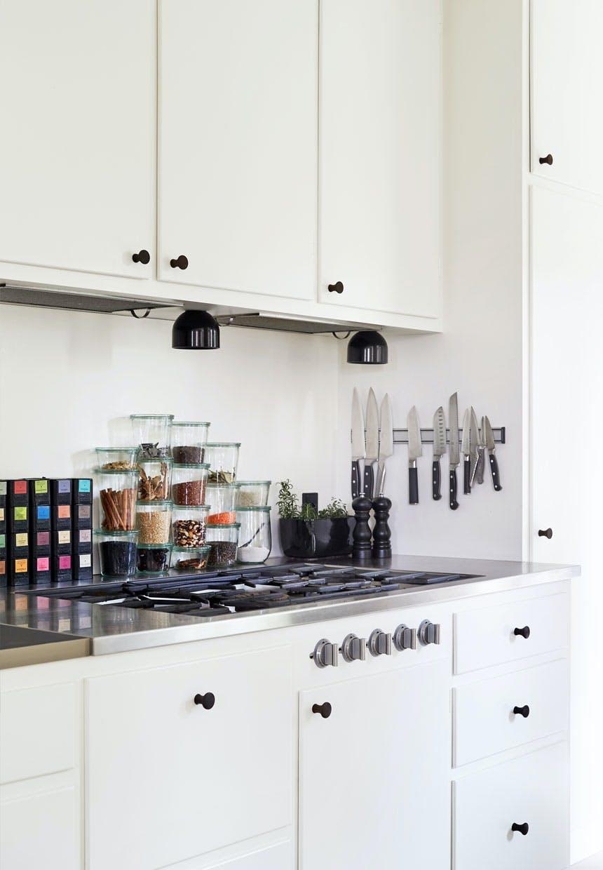 Klassisk køkken med plads til opbevaring