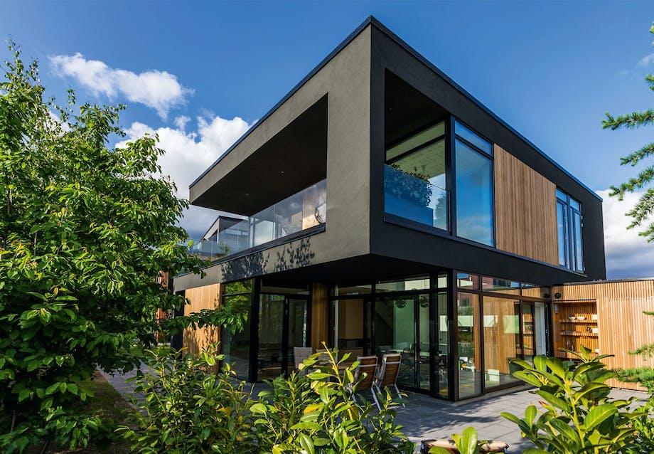 Villa tegnet af arkitekt Lars Bo Poulsen