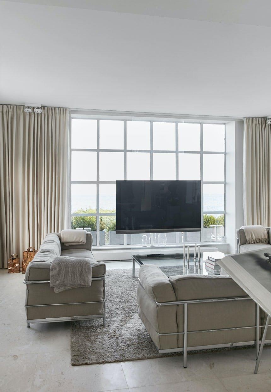 Fleksibelt og smart tv-system i indretningen