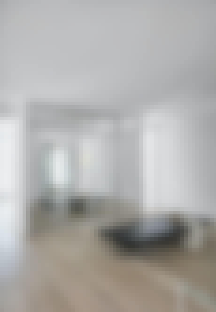 Påklædningsværelse med skabe fra Ikea