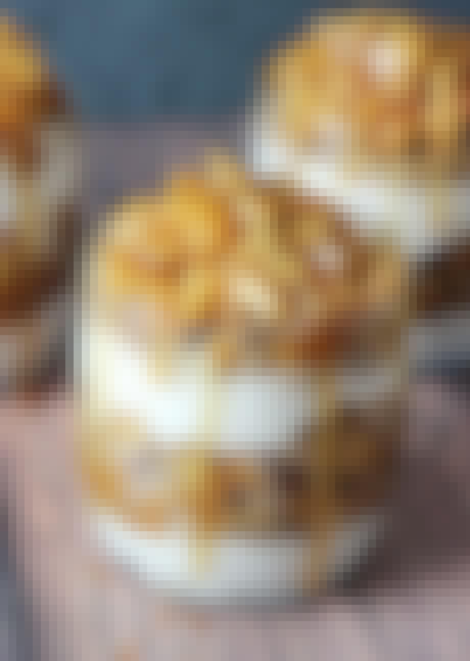 Æbletrifli med karamel