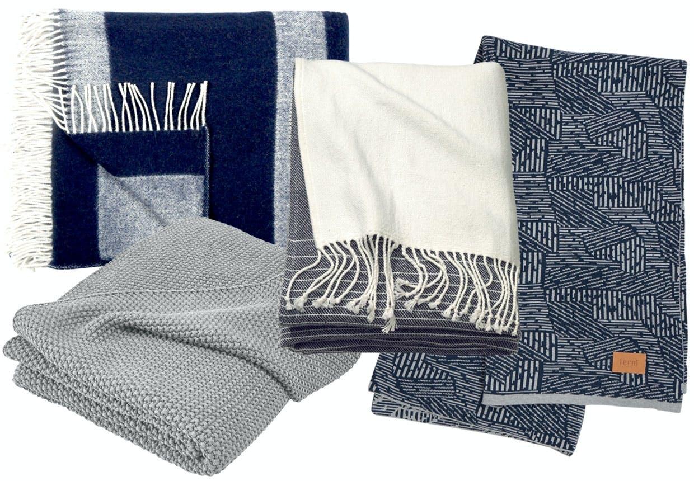 Bløde og varme tæpper og plaider
