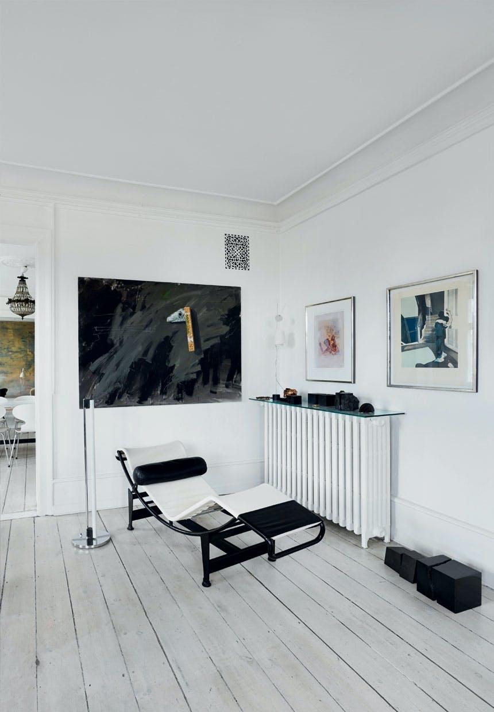 Chaiselong designet af Le Corbusier