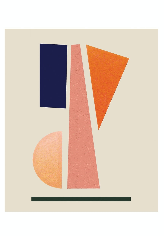 Balance-plakat fra Stilleben