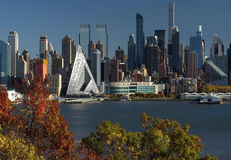 VIΛ West 57 - Bjarke Ingels og Big courtscraber/gårdskraber i New York