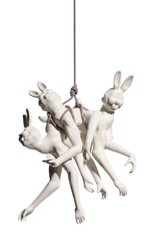Louise Hindsgavls porcelænsskulpturer