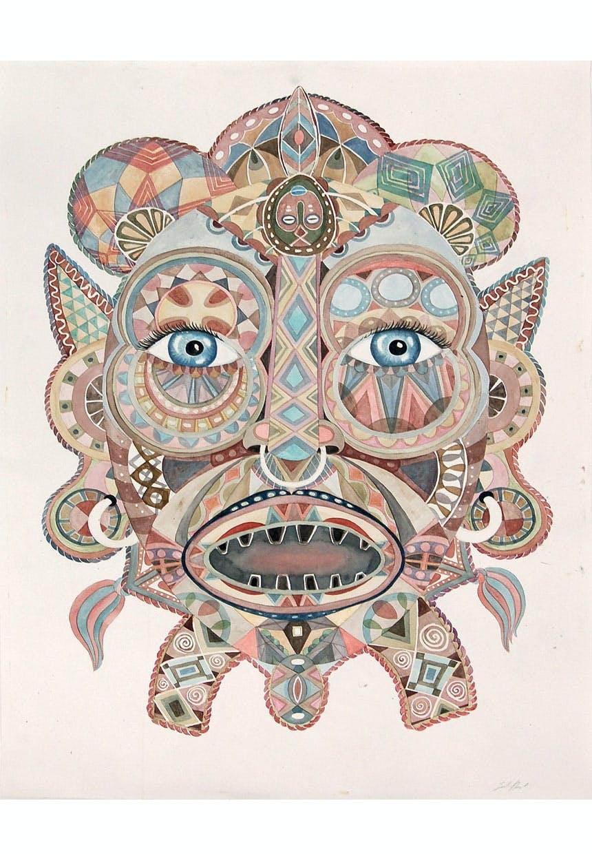 Kunstneren Julie Nords billeder af masker