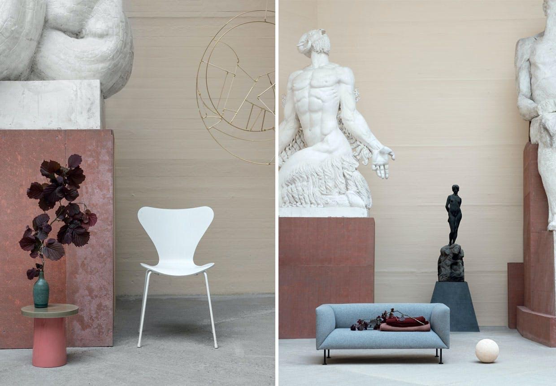 Moderne dansk og skulpturelt design på RudolphTegners Museum