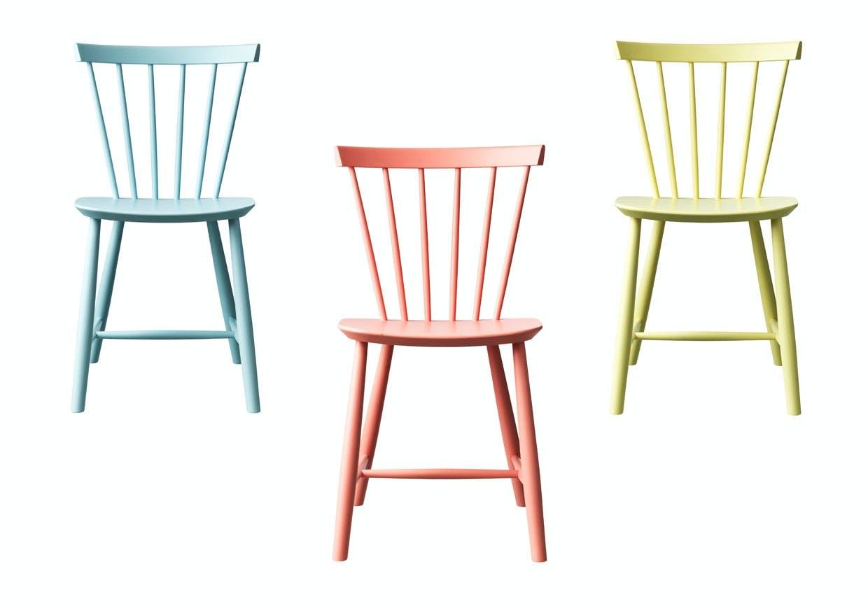 Poul M. Volthers pindestol J46 i 3 nye moderne farver.