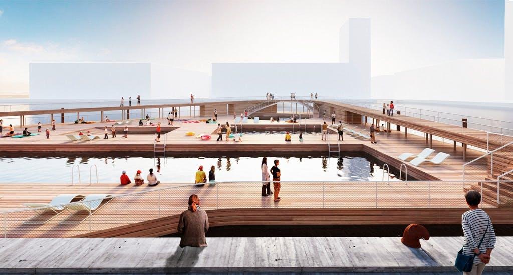 Aarhus Havn har været for forurenet - indtil nu