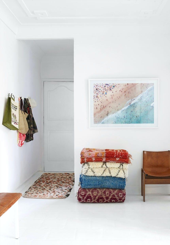 Tæpper fra Kulchi i smukke farver