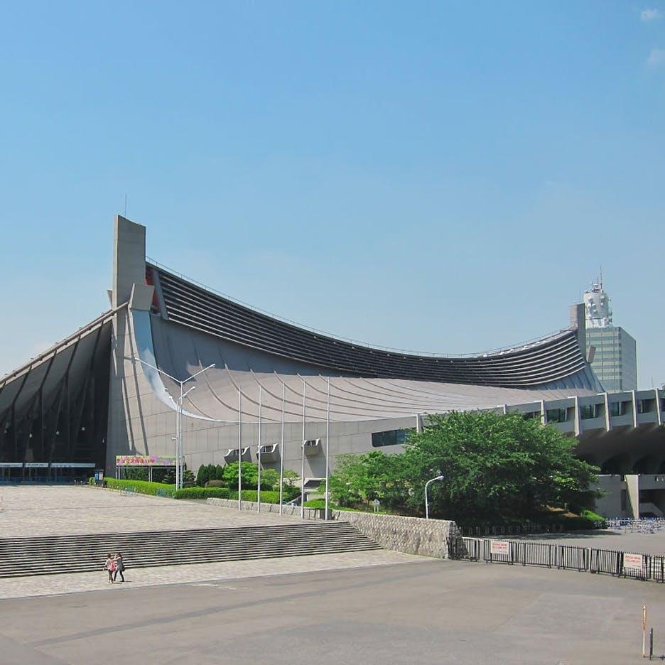 Skandaleramt: Yoyogi National Gymnasium, Tokyo 1964