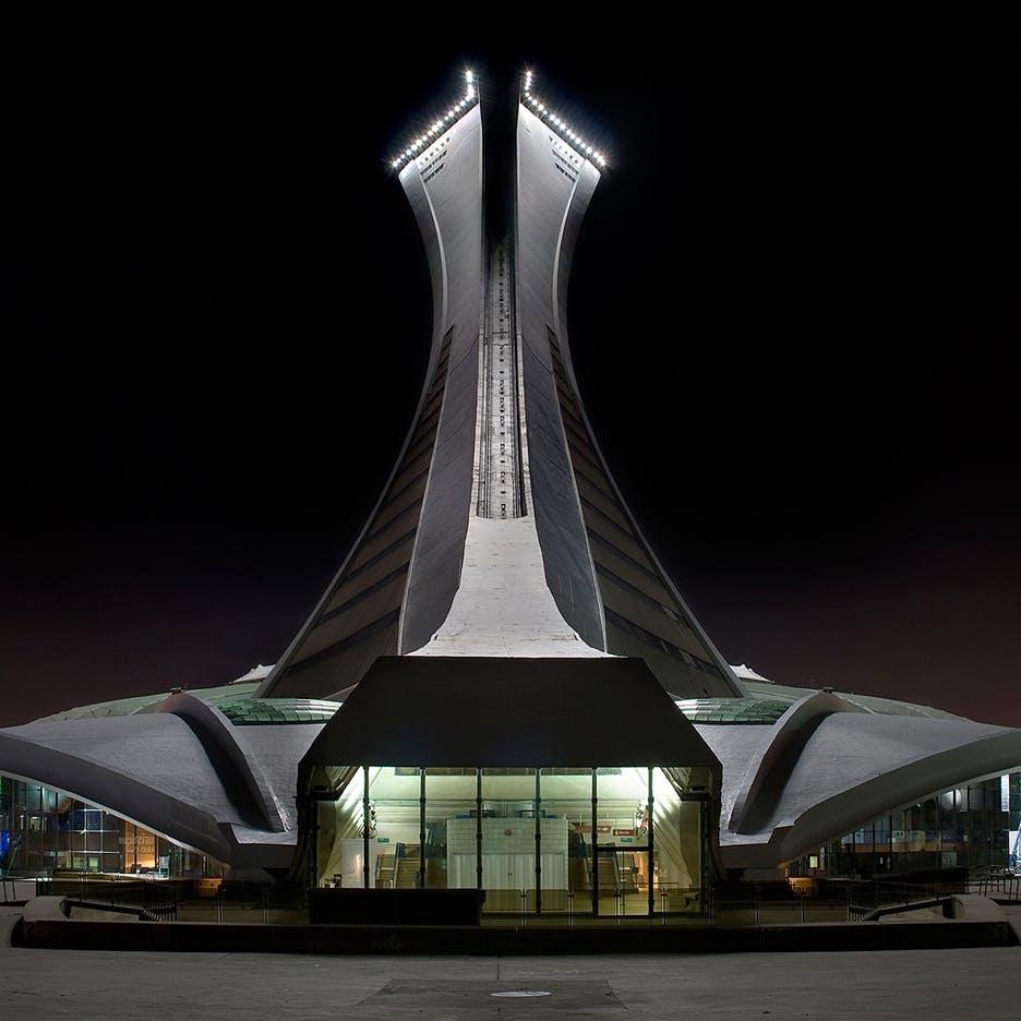 The Big O, Montreal Olympic Stadium, 1976