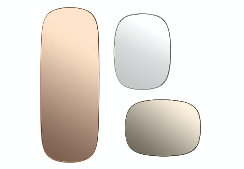 Spejlet i farvet glas fra Muuto