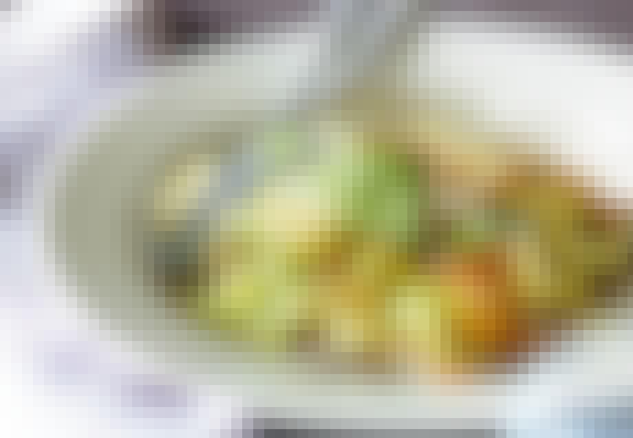 Pasta med squash og gulerødder