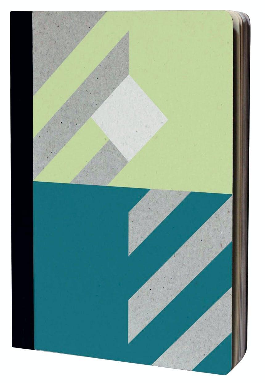 Notesbog lavet af genbrugspapir