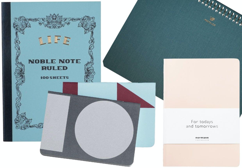 10 dekorative notesbøger