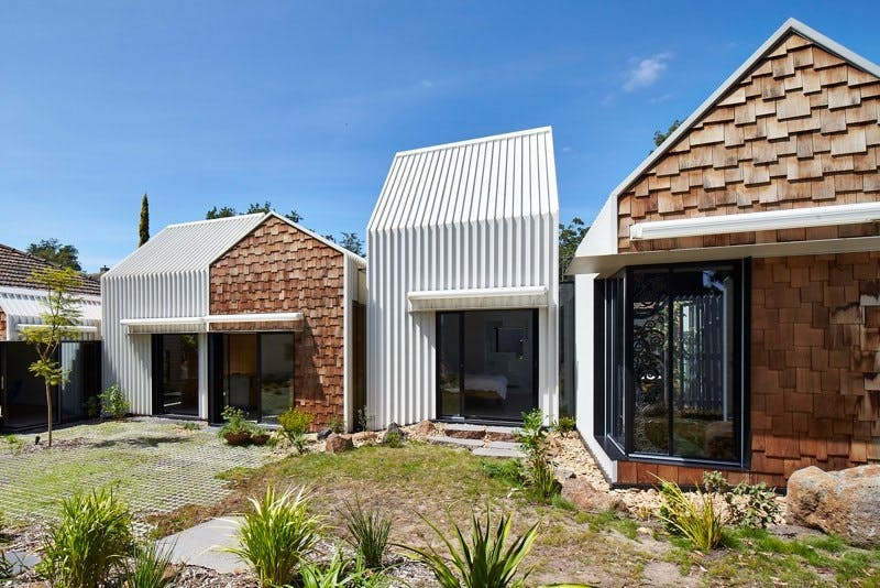 Ét hus, som mere ligner en lille landsby