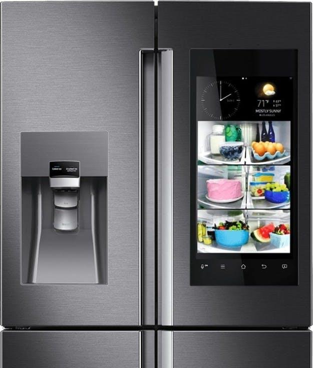 Det syngende køleskab ...