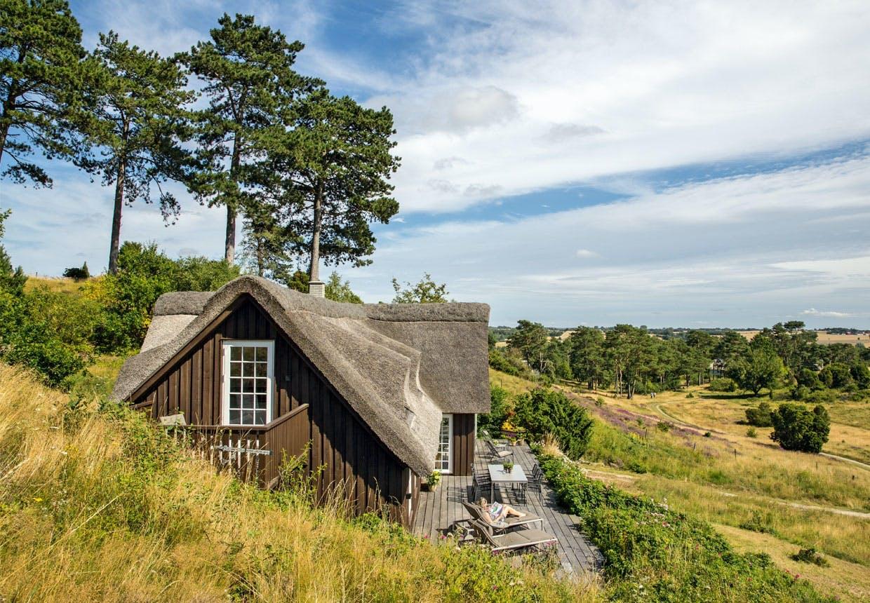 Sommerhus i et spændende naturområde