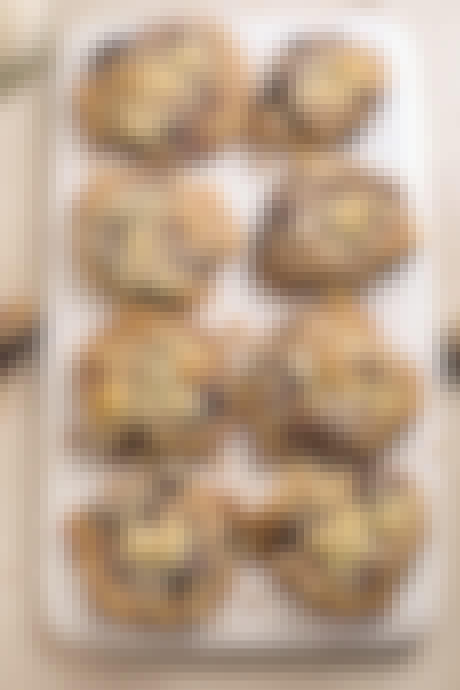Blærbærcookies med ingefær
