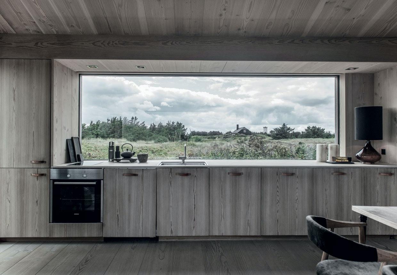 Køkken af Douglastræ