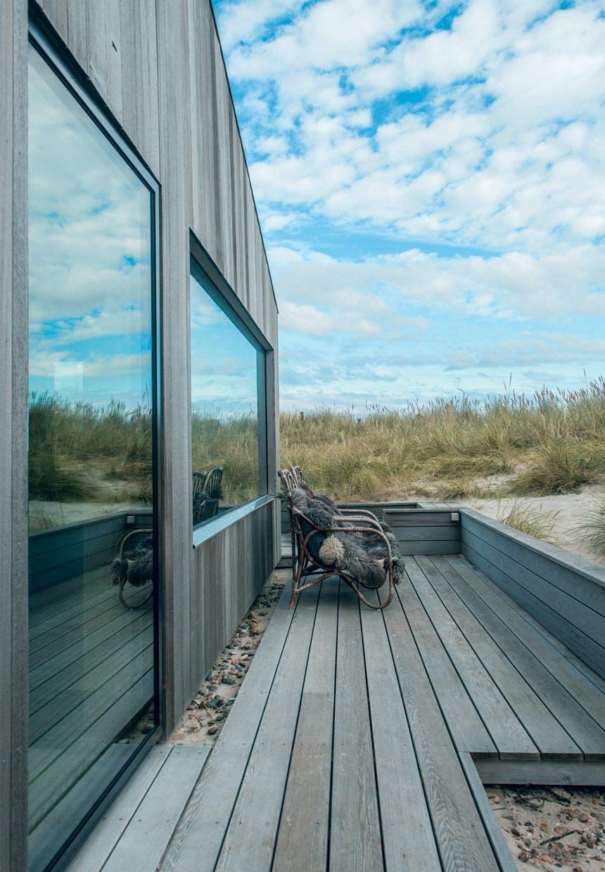 Sommerhus med naturlige materialer