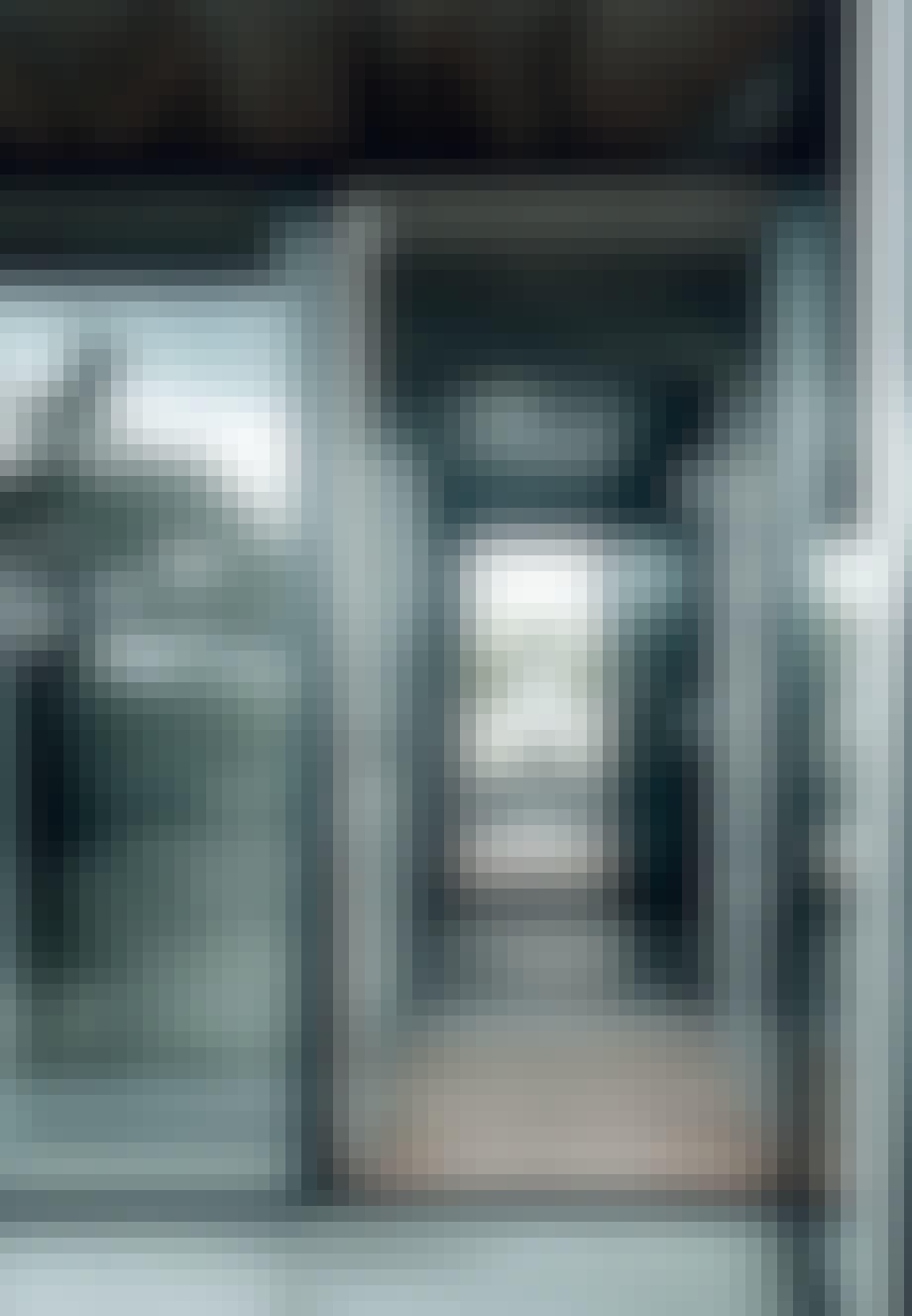 Separat indgang fra soveværelserne
