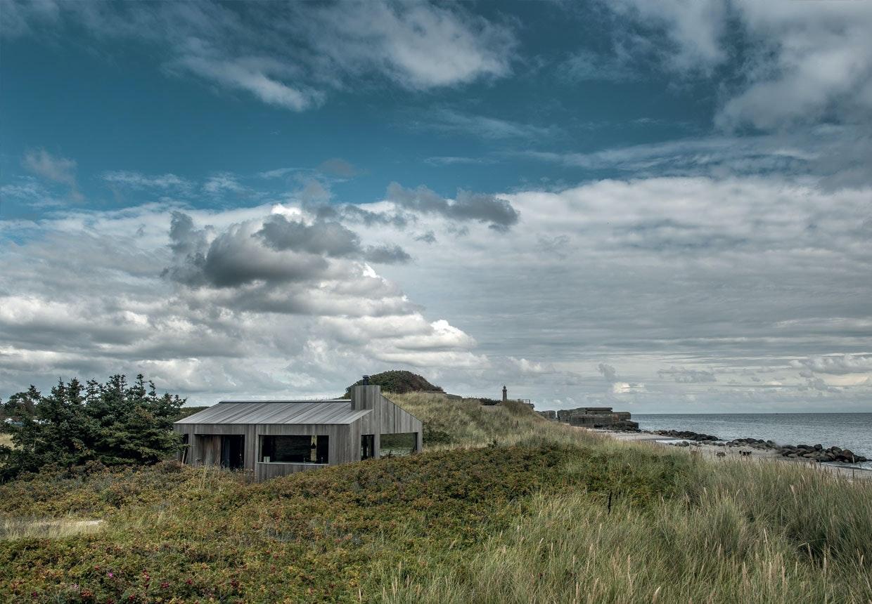 Sommerhus tegnet af Sebastian Schroers
