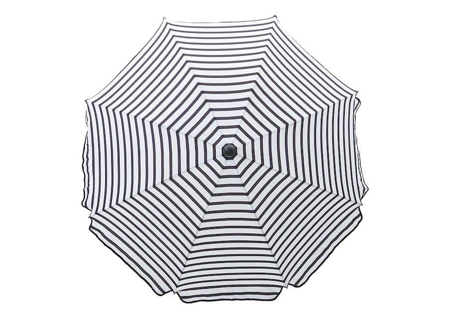 Stribet parasol