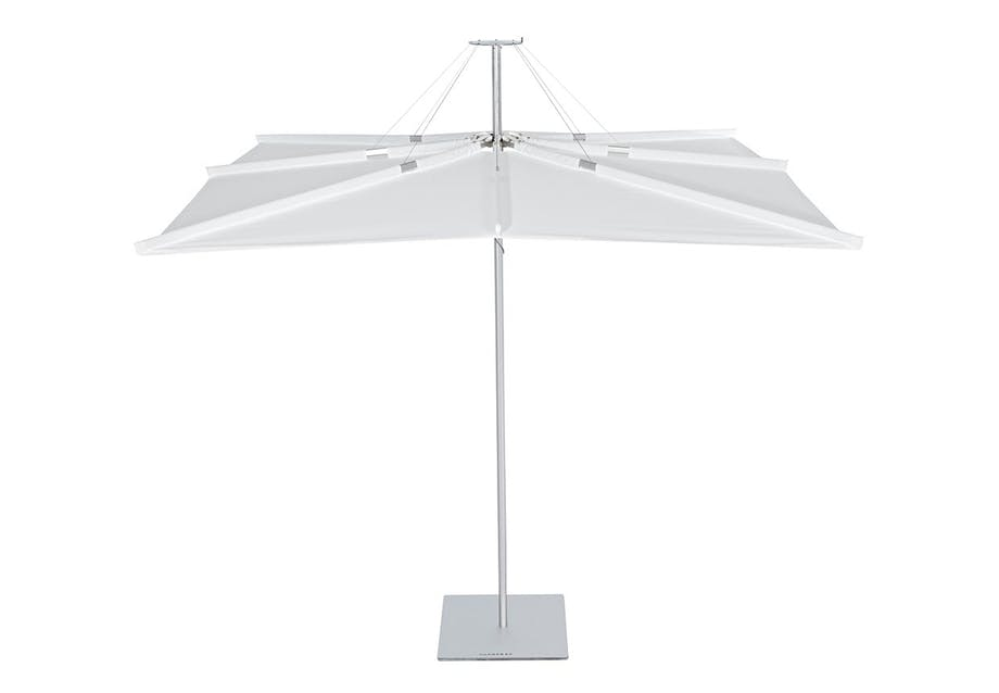 Firkantet parasol