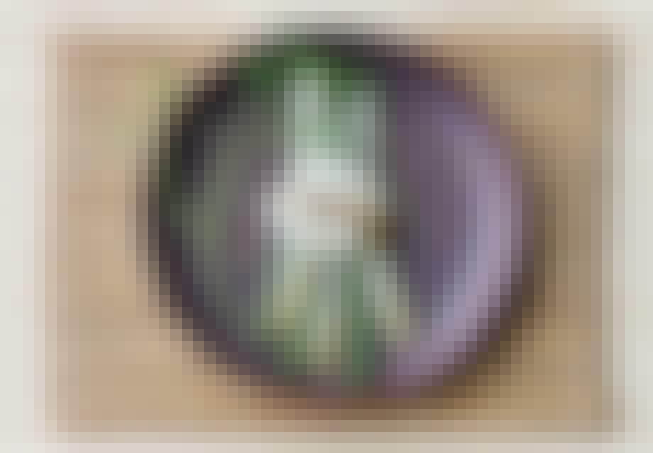 Asparges med pocheret æg og dukkah
