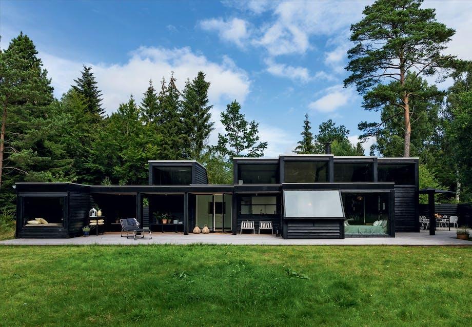 Sommerhus i skovens stille ro