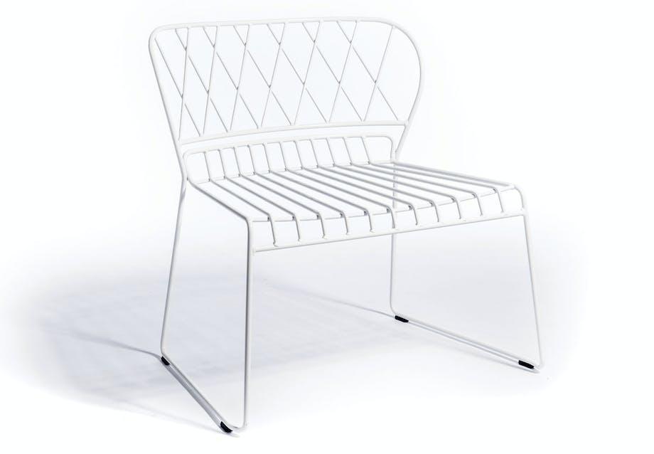 Elegant loungestol til terrassen