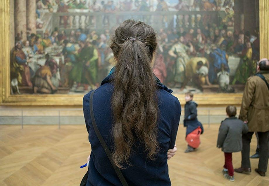 Mona Lisa på Louvre