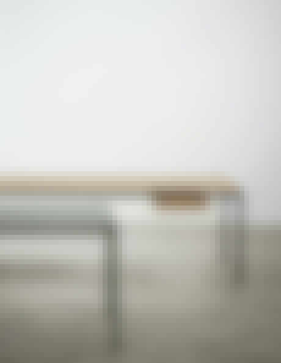 Professorbordet og studenterbordet
