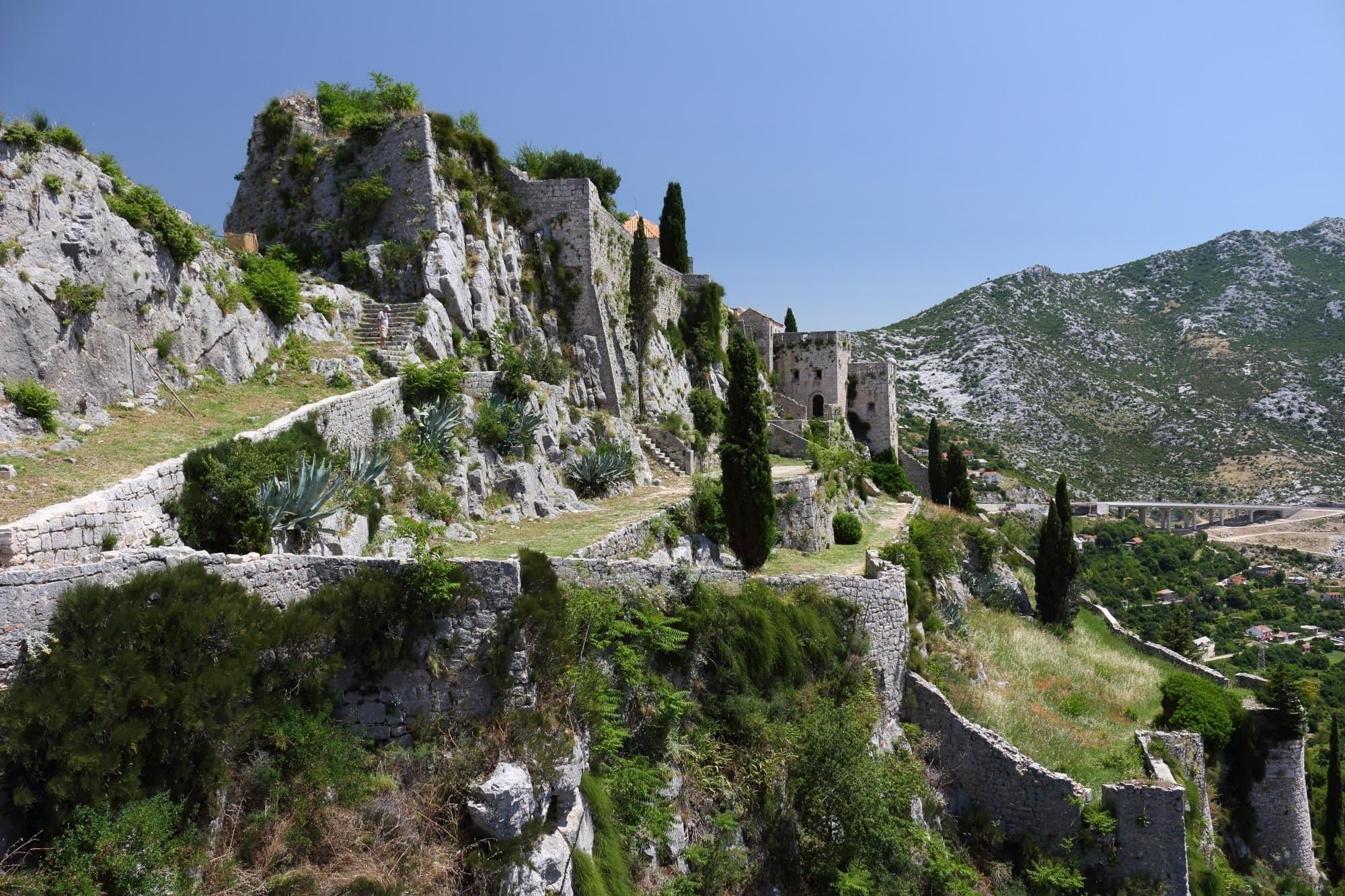 Klis, Kroatien — City of Meereen