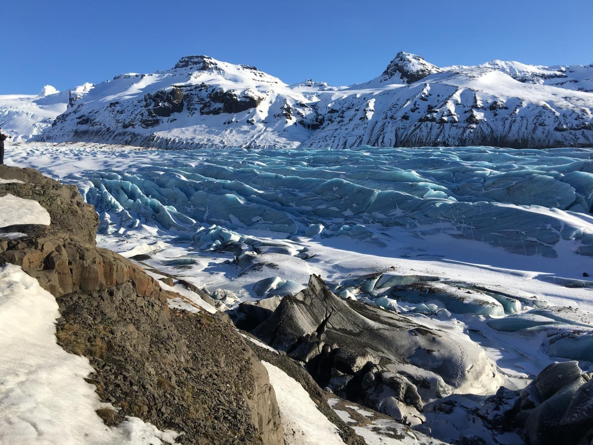 Vatnajokull National Park, Island — Beyond the Wall