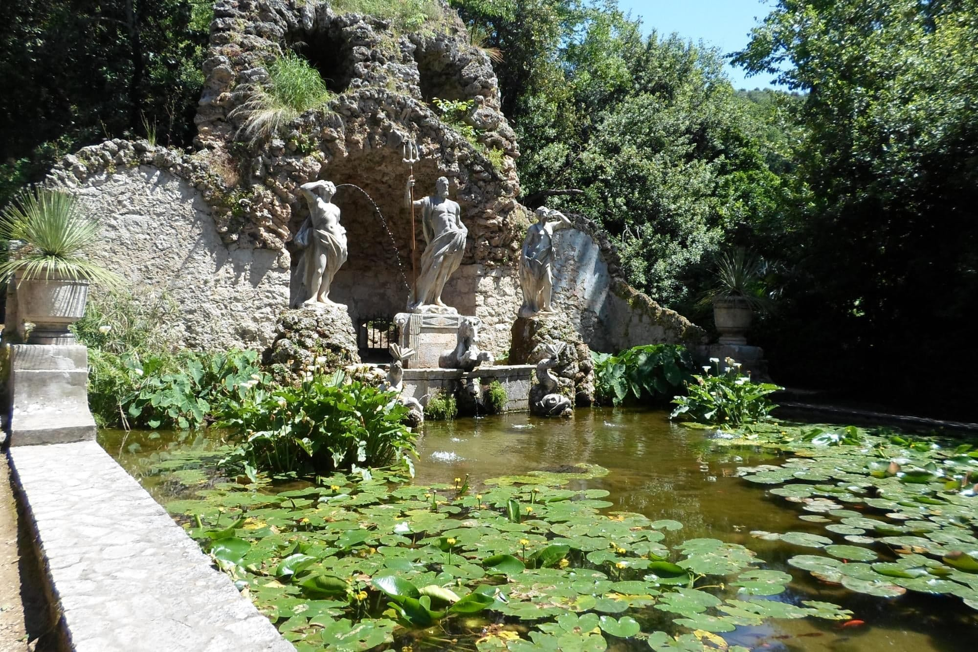 Trsteno, Kroatien — Red Keep Gardens