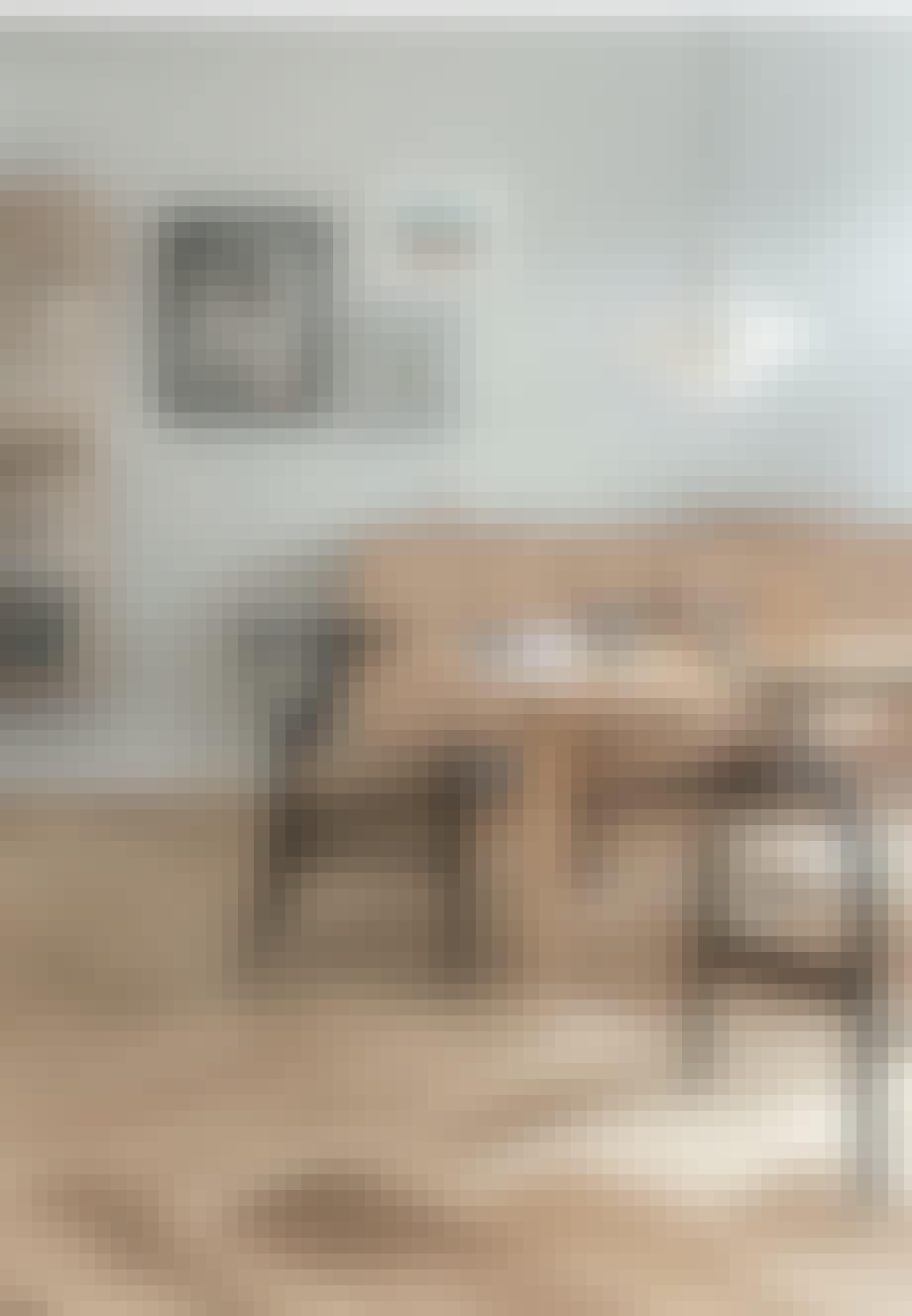 Spisestole med Wegner Y-stole