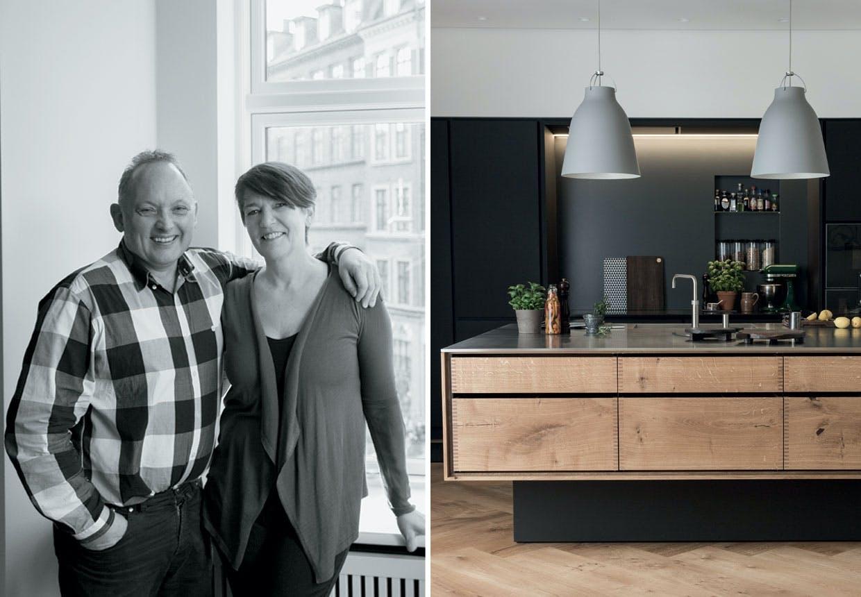 Herskabslejlighed: Et hjem med passion for træ