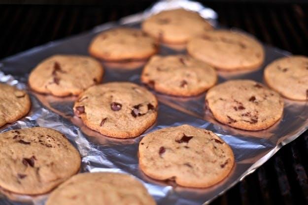 Klassiske småkager med chokolade