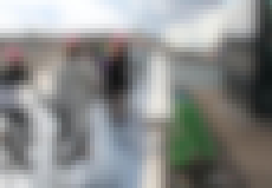 Polterabend på Inderhavnsbroen