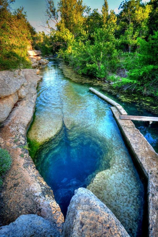 Jacob's Well, Texas, USA