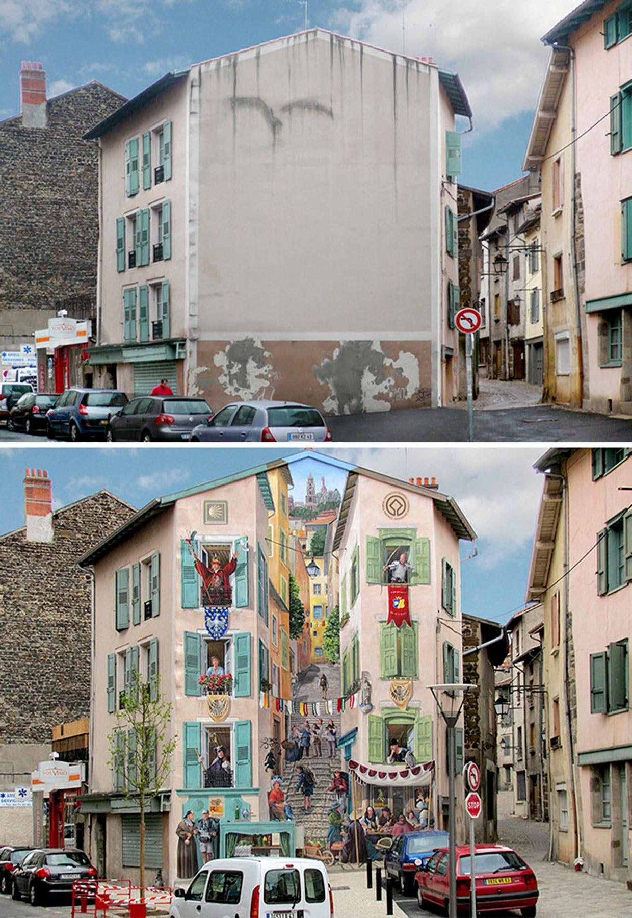 Synsbedrag i Le Puy-en-Velay