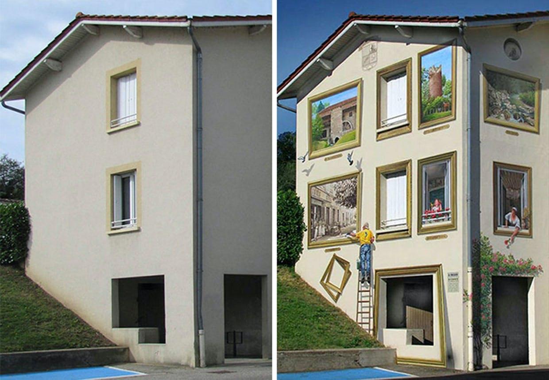 Indrammede vinduer